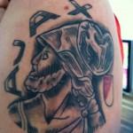 Tattoo van Barry uit Purmerend