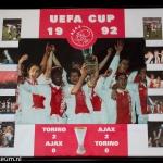 Collage UEFA CUP 1992. Torino - Ajax 2-0. Ajax - Torino 2-0.
