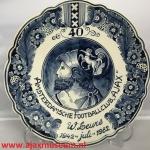 40 jaar Amsterdamsche Footballclub W Leurs R.P.J. Vunderink 1942 8 juli 1982