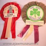 Wembley Panathinaikos – Ajax 1971. Ajax wint de Europa Cup 1 in het Wembley Stadion met 2 – 0 van Panathinaikos.