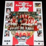 Collage Winnaar Amstel cup 1999. Ajax - Fortuna 2-0.