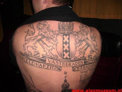 Tattoos ajax museum for Tattoo amsterdam walk in