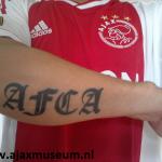 Tattoo van Andy uit Vlissingen