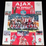 Collage Ajax de dubbel. 17 mei 1998. Ajax - PSV 5-0.