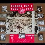 Collage Europa Cup 1 1970 - 1971. Ajax - Panathinaikos 2-0. Gouden Jaren.
