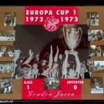 Collage Europa Cup 1 1972 - 1973. Ajax - Juventus 1-0. Gouden Jaren.