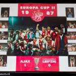 Collage Europa Cup ll 1987. Ajax - Leipzig 1-0.