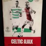 Programma Celtic - Ajax 22 oktober 2013