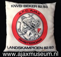 Kussen 1983 1984 for Ajax kussen