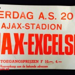 Tramkaart Ajax - Excelsior. Stadion De Meer