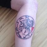 Tattoo van Jasper uit Zaanstad