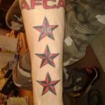 Tattoo van Frans uit Lelystad