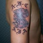 Tattoo van Gerrit