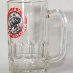 Glas Ajax Amsterdam. Oude logo