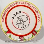 25 jaar bordjesclub Ajax, huidige logo