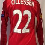 Wedstrijdshirt Jasper Cillessen. Gedragen tijdens een Europa League-wedstrijd. Seizoen 2014-2015.