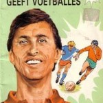 Cruijff geeft voetballes