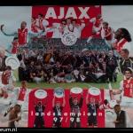 Collage landskampioen 1997 - 1998