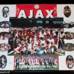 Collage landskampioen 1995 - 1996