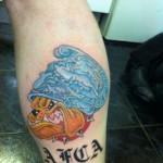 Tattoo van Levi uit Heerlen