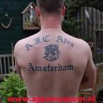 Tattoo van Louis