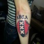 Tattoo van Maarten uit Akersloot