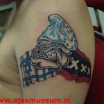 Tattoo van Michel