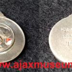 Kampioensmedaille Ajax 1956 - 1957 Jun.B3
