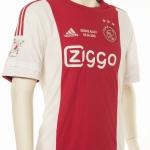 Reunie shirt Ajax 2016 gedragen door Yannis Anastasiou.