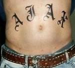Tattoo van Robin