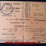 Diploma 1951 1ste halfjaar