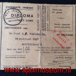 Diploma 1951 2e halfjaar