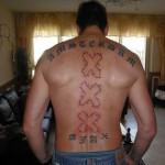 Tattoo van Danny