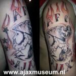 Tattoo van Stefan uit Harderwijk.