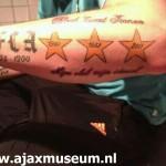 Tattoo van Levi uit Axel