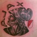 Tattoo van Rick uit IJmuiden