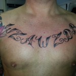 Tattoo van Barry uit Zwanenburg