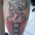 Tattoo van Jack uit Jisp