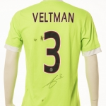 Gedragen door Joël Veltman seizoen 2015-2016.