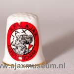 Vingerhoedje oude Ajax logo
