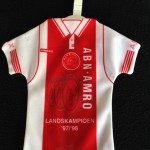 Mini Ajax thuisshirt 1997 - 1998