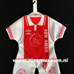 Mini Ajax thuisshirt 1991 - 1992