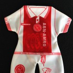 Mini Ajax thuisshirt 1997-1998